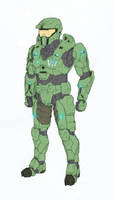 Mjolnir mkVII armor by Tekka-Croe