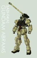 SADI-04A Gundam Abrams by Tekka-Croe