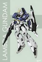 Lambda Gundam by Tekka-Croe