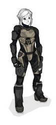 Reina's Armor- Rough Concept by Tekka-Croe