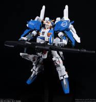 Ex-S Gundam (HGUC 1/144) by Tekka-Croe