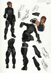 Reina- Armor Studies by Tekka-Croe