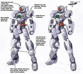 Revision Notes- Gundam Dawn by Tekka-Croe