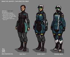 Civilian Expedition Gear by Tekka-Croe