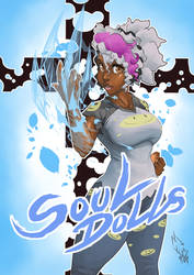 Soul Dolls New Cover page by Bigmass1