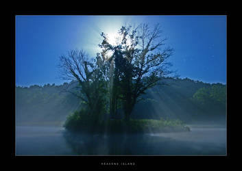 C4D Heavens Island by cravingfordesign