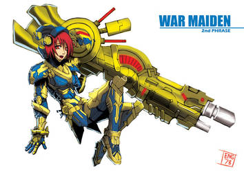 War Maiden 02 by Engraver78