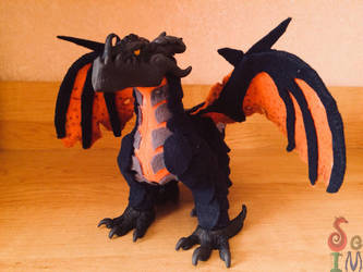 DeathWing Plush by OtterSoIm