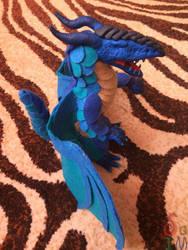Blue Dragon by OtterSoIm