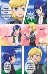 Felix x Bridgette - Mini comic parte 1 by Ahiru-Matsuki