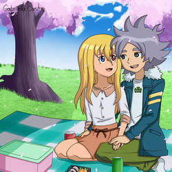 Fubuki y Ahiru I E GO by Ahiru-Matsuki