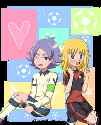 Shirou y Ahiru version IE Ares no tenbin by Ahiru-Matsuki