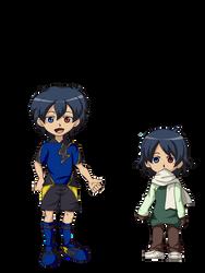 Comision: Inazuma eleven - Oc Ryan Fubuki by Ahiru-Matsuki
