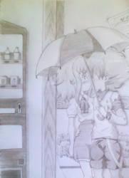 Surprise kiss - Inazuma Eleven Ares by Ahiru-Matsuki