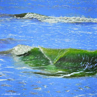 Green Wave by ClefairyKid