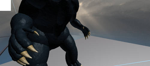 New GODZILLA Model for roblox coming soon by Travonstatus