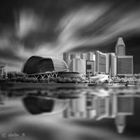 Esplanade Reflection by abdieft