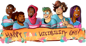 ::Happy Trans Visibility Day!:: by Arse-Peach