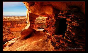 Ancient Puebloan Granary by narmansk8