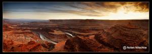 Colorado Gooseneck Panorama by narmansk8