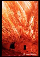 Burning House Granary by narmansk8