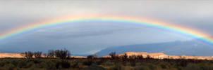 Owens Valley Rainbow by narmansk8