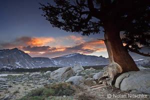 Mt. Langley Sunset by narmansk8