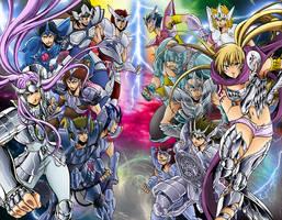 Silver Saints by Niiii-Link