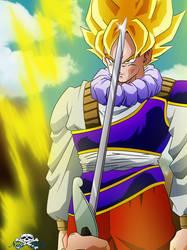 [DBZ] Goku Yardrat SSJ by Niiii-Link