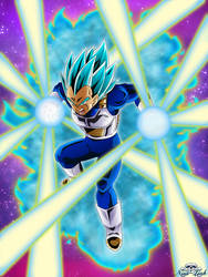 [DBS]Vegeta Super Saiyajin Blue by Niiii-Link