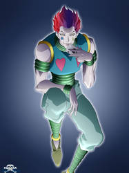 [HunterXHunter]Hisoka by Niiii-Link