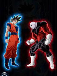 [DBS]Goku VS Jiren by Niiii-Link