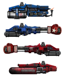 Megabot stretchgoal weapons by flyingdebris