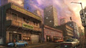 Cityscape by flyingdebris