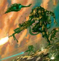 Nantite Infused Combat Mutant by flyingdebris