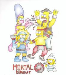 Mortal KomBart 2 by trcsonic