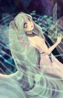 Hatsune Miku by Kerriwon