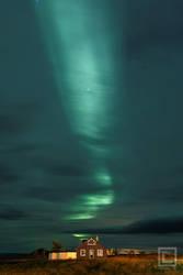 Northern Lights over Reykjahlid, Iceland by soak2179