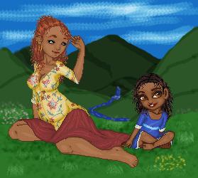 Maiden + Mother by mostnobleblack