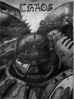 Chaos Space Marine by leprechaun1066