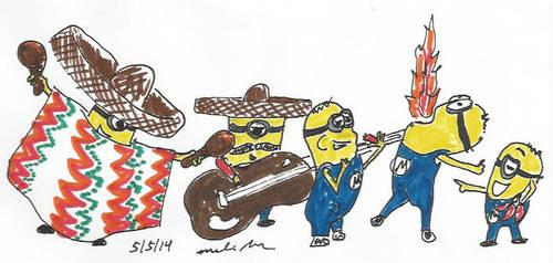 Cinco De Minion by BoogieBoyLock