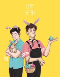HAPPY EASTER!!! by MichaelaKindlova