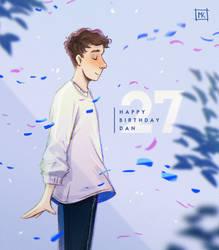 Happy 27th bday Dan!! by MichaelaKindlova