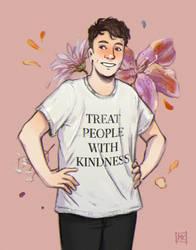 treat people with kindness by MichaelaKindlova