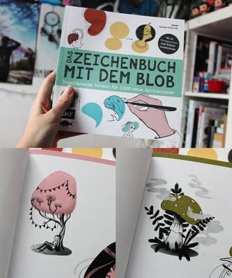 Das Zeichenbuch Mit Dem Blob by MichaelaKindlova