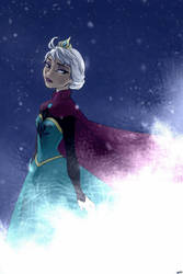 Snow Queen by godohelp