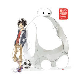 Big Hero 6 by godohelp