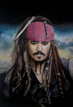 Jack Sparrow Drawing by JakubQaazAdamski