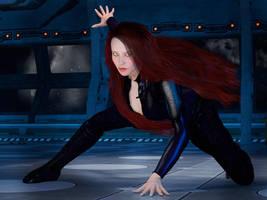 Black Widow by PJFriel