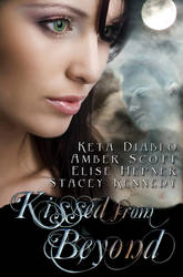 Kissed from Beyond Book Cover by PJFriel